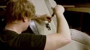 Sofa Recliner Repair by Liberty Bell Furniture Repair Sectional Sofa Fix Youtube