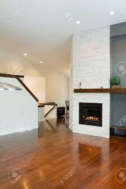 living room modern living room design with fireplace wallpaper