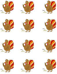 printable turkey cutout thanksgiving legend sunday school lesson