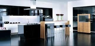 cuisine blanc et noir beautiful cuisine bois et noir ideas design trends 2017