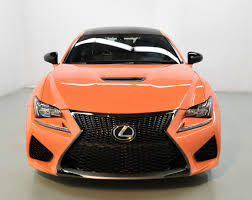 rcf lexus orange 2015 lexus rc f for sale in norwell ma 000664 mclaren boston