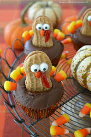 keep calm and gobble on nutter butter turkey cupcakes home is