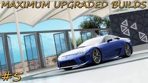 widebody lexus lfa forza horizon 3 maximum upgraded builds 5 2010 lexus lfa youtube