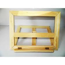 chevalet cuisine chevalet de table lutrin bois 27cm x20cm support de livre de