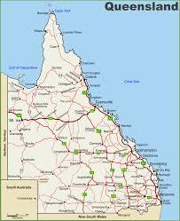 Map Australia Interactive Queensland Map Queensland Australia Where To Live In