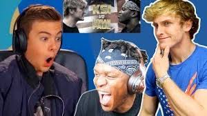 Challenge Ksi Ksi Reacts To React To Logan Paul Vs Ksi Boxing Match