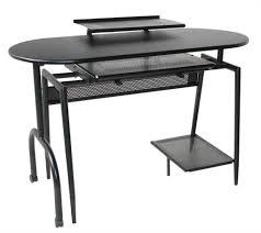 Small Black Desks Antique Style Office Furniture Mahogany Reproduction Vinyl