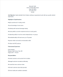Example Resume For Waitress by Host Resume Resume Cv Cover Letter