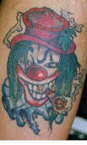 clown tattoos templates free tattoo flash about clowns