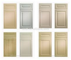 hickory wood unfinished raised door mdf kitchen cabinet doors