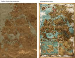The Witcher 3 World Map by