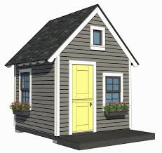 8 u0027x8 u0027 playhouse with loft plans by a place imagined outdoors