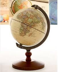 world map globe image 5 vintage antique desktop table decorative wood globe earth world