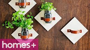 diy project mason jar kitchen garden homes youtube