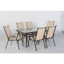 Sling Patio Chairs 7 Piece Sling Patio Furniture Sears Outlet