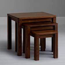 seymour dark nest of 3 tables qualita