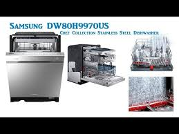 Samsung Dw80f600uts Dishwasher Reviews Samsung Dw80h9970us Chef Collection Stainless Steel Dishwasher