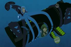 image squid martin grabbing whale chris with arms and tentacles