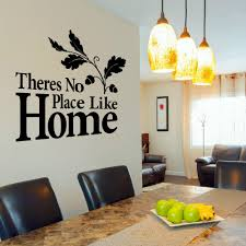 aliexpress com buy theres no place like home vinyl wall art aliexpress com buy theres no place like home vinyl wall art sticker decal quote contemporary stickers cuisine wallpaper mural d413 from reliable stickers