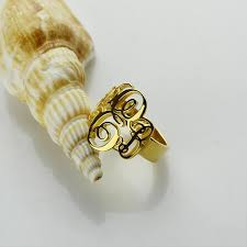 Initials Ring Online Get Cheap Initial Gold Ring Aliexpress Com Alibaba Group