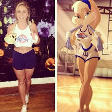 Womens Homemade Halloween Costume Ideas 20 Awesome Diy Halloween Costumes Women Bunny Space Jam
