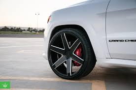 jeep custom wheels 2015 jeep grand cherokee srt8 verde custom wheels montclair ca