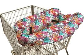 shopping cart u0026 high chair cover in watercolor splash by itzy ritzy