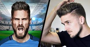soccer haircut steps olivier giroud hairstyle 2016 step by step tutorial