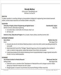 biomedical engineer resume 47 engineering resume sles pdf doc free premium templates