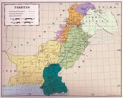 World Map 1950 Pakistan Maps