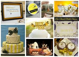 bee themed bridal shower inspiration aisle perfect