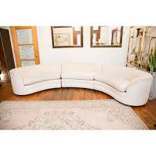 Curved Sectional Sofa Henredon Curved Sectional Sofa Chairish