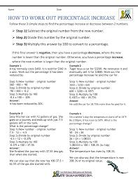converting percents to decimals worksheets similar figures