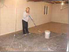 my best diy project yet i painted my concrete floor i did it all