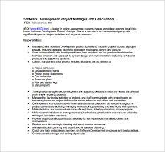 risk description template project manager description template 10 free word pdf