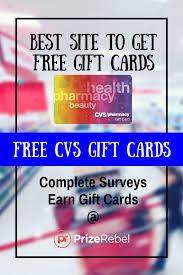free cvs gift card prizerebel