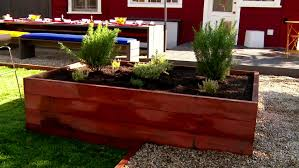 What Type Of Wood Is Best For Raised Garden Beds How To Build A Raised Bed Garden Video Hgtv