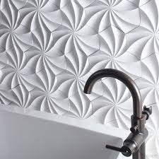 3d wall 25 spectacular 3d wall tile designs to boost depth and texture