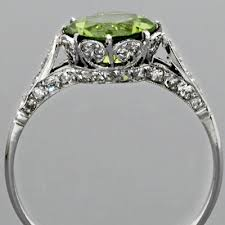 peridot engagement ring peridot engagement ring