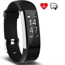 bracelet with heart monitor images Fitness tracker aneken smart bracelet with heart rate monitor jpg