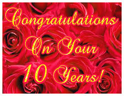 10th wedding anniversary happy 10th wedding anniversary ecards greetingshare