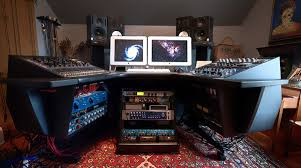 Home Recording Studio Desk Plans Aura260 Workstation Can U0027t Wait For The Studio To Be Finalised