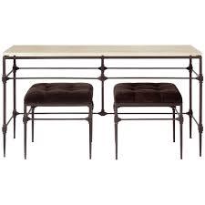 Metal Console Table Bernhardt Interiors Ellsworth Metal Console Table 424 916s 424 916