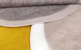 Round Kids Rug by Kids Grey Felt Round Rug Decorative Carpet For Children U0027s Room Or