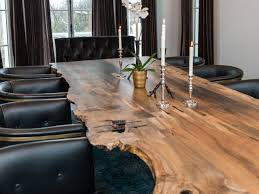 cozy living edge dining table 105 live edge dining room tables for