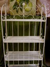 regal balkon regal standregal aus schmiedeeisen fürs bad oder den balkon mit
