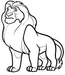 printable 62 disney coloring pages lion king 3014 disney