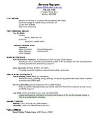 How To Build A College Resume Download How To Make A College Resume Haadyaooverbayresort Com