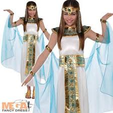 Egyptian Queen Halloween Costume Cleopatra Costume Girls Egyptian Queen Book Week Kids Movie Fancy