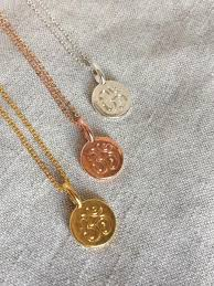 necklace gold jewelry images Rose gold necklace om pendant necklace rose gold jewelry yoga jpg